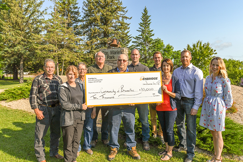 Community check presentation on Canadian prairies