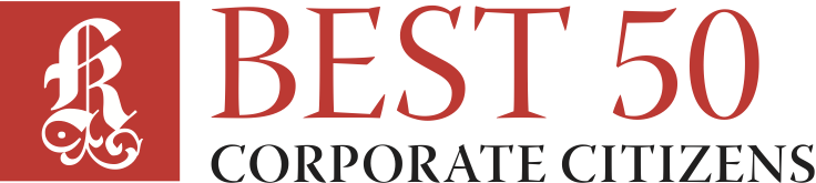 Best 50 Corporate Citizens logo