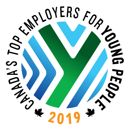 Canada's Top Employers for Young People 2019 logo