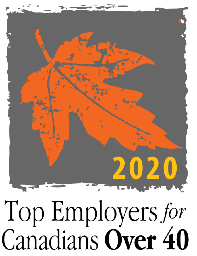 Top Employers for Canadians Over 40 logo