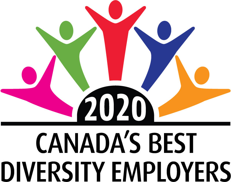 Canada's best diversity employers 2020 logo