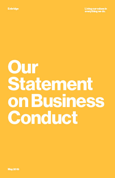 Statement on Business Cover