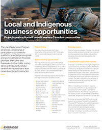 Indigenous Business Opportunities