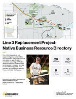 Native business directory handout for Line 3 Replacement